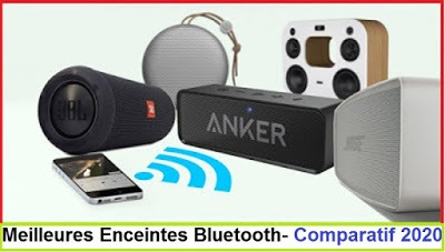 Meilleures Enceintes Bluetooth- Comparatif 2020