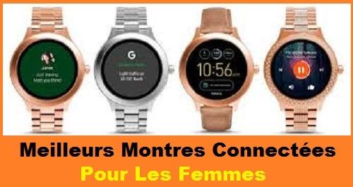 Meilleurs Montres Connectées Pour Les Femmes- Comparatif 2021.