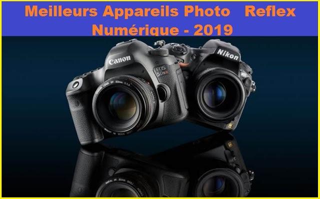 Meilleurs Appareils Photo Reflex Numérique pour 2021.