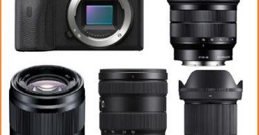 Objectif Sony a6600