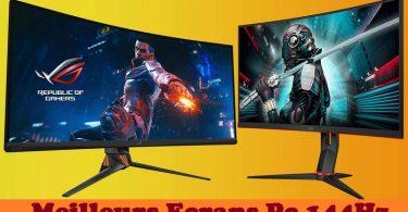Meilleurs moniteurs et écrans PC 144Hz en 2021