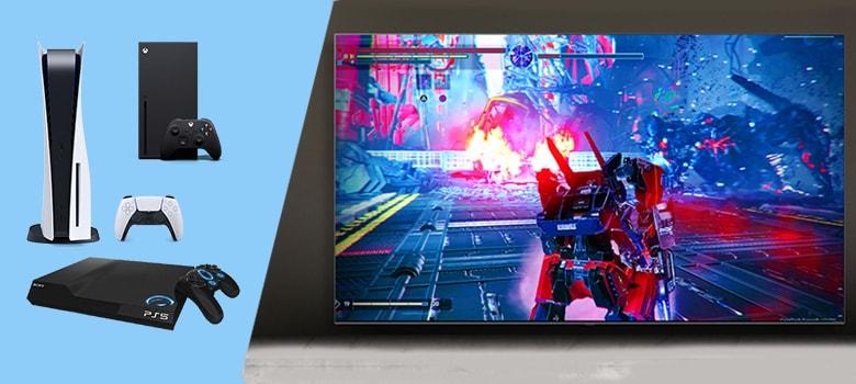 Meilleur TV gaming pour PS5 et Xbox Series S et X pas Cher.